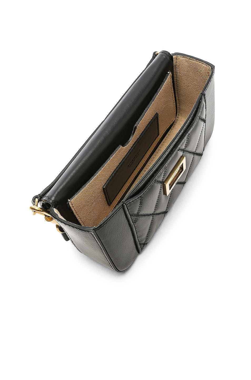 Image 5 of Givenchy Pocket Chain Wallet in Black
