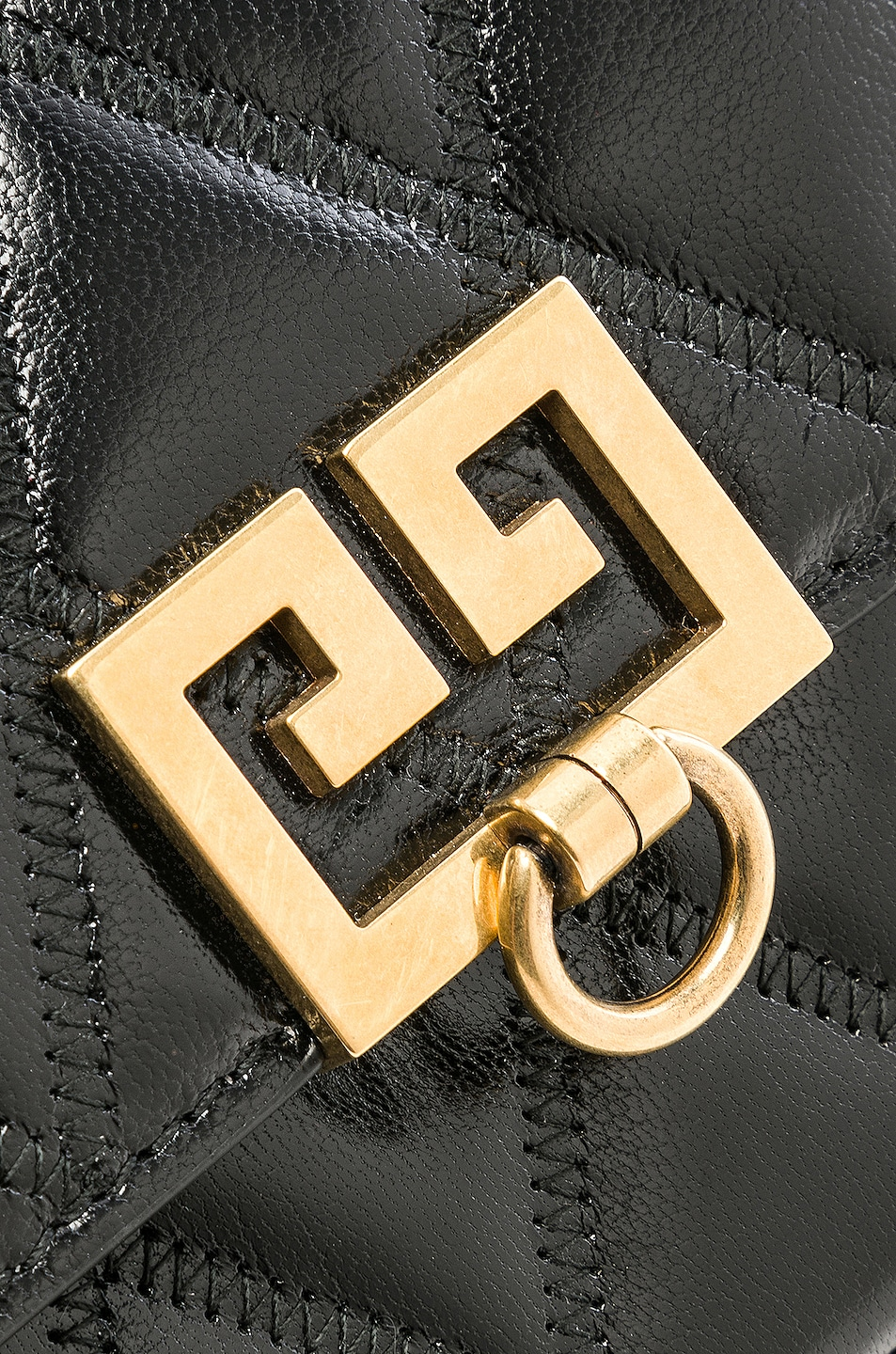 Image 8 of Givenchy Pocket Chain Wallet in Black