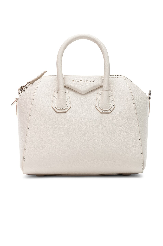 Image 1 of Givenchy Mini Antigona Bag in White