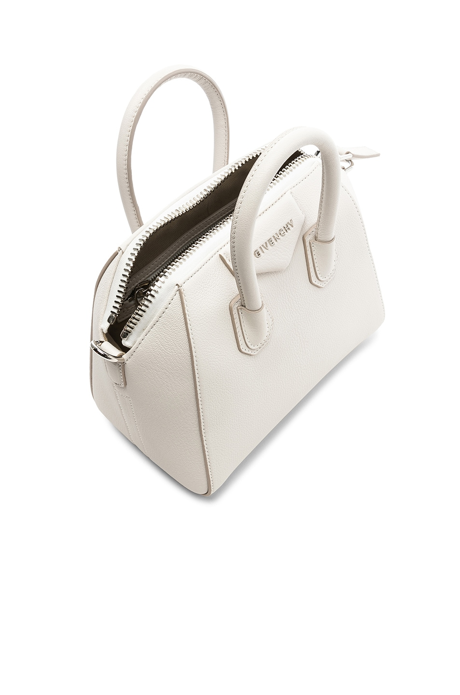Image 5 of Givenchy Mini Antigona Bag in White