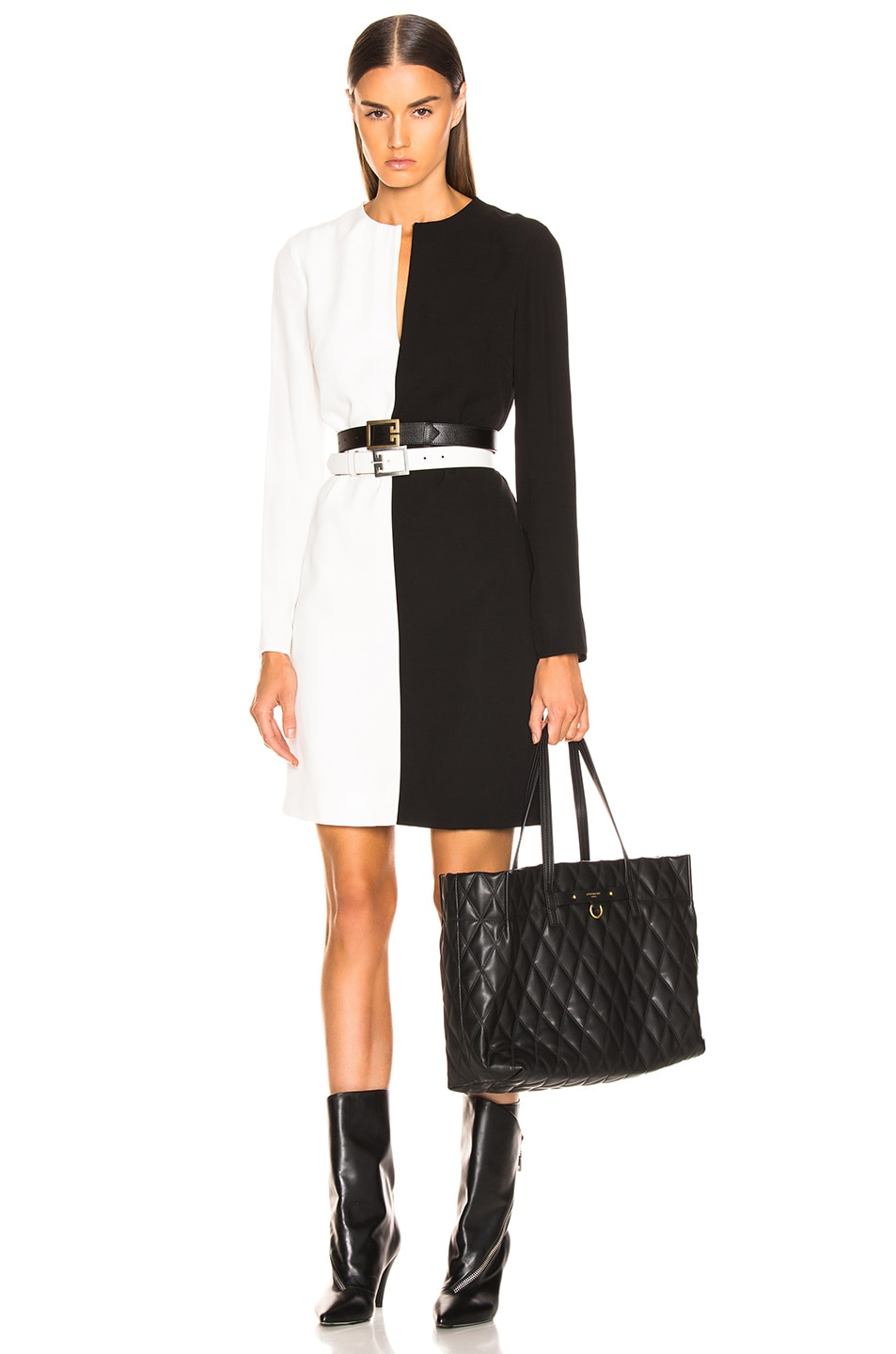 Image 2 of Givenchy Duo Shopper Tote in Black