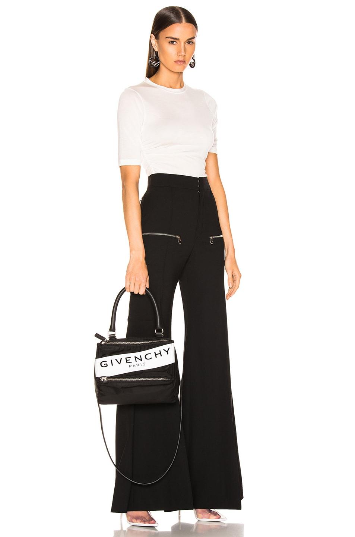 Image 2 of Givenchy Paris Nylon Small Pandora Bag in Black