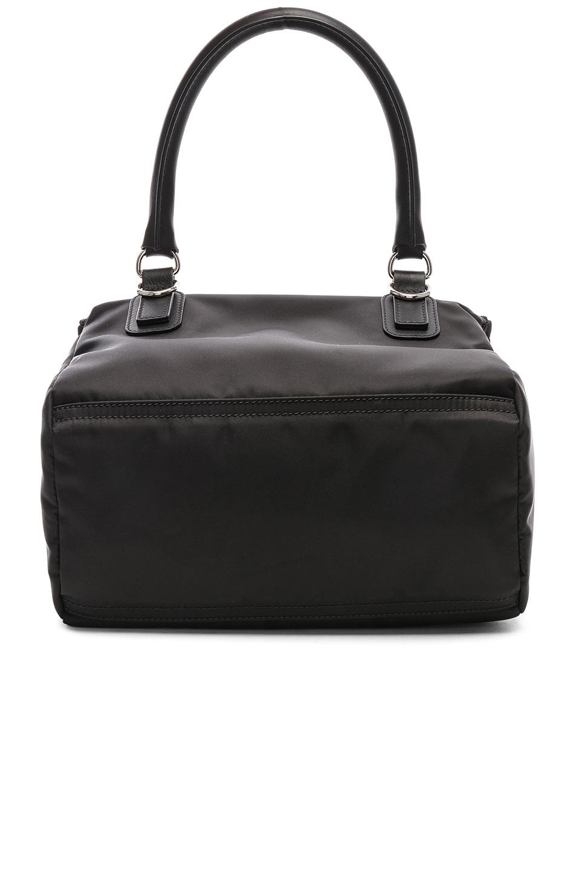 Image 3 of Givenchy Paris Nylon Small Pandora Bag in Black