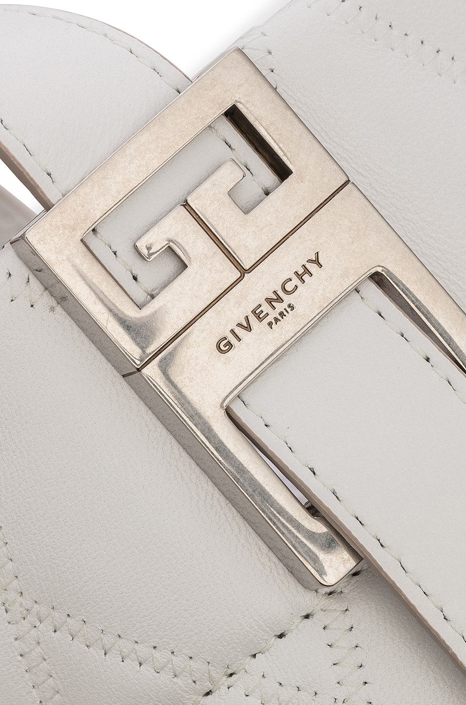 Image 8 of Givenchy Mini GV Convertible Bucket Bag in White