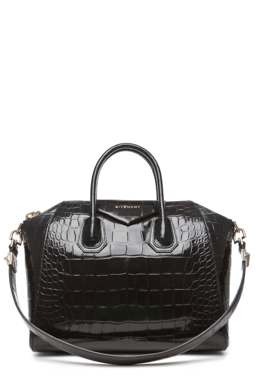 Image 1 of GIVENCHY Medium Antigona Handbag in Black