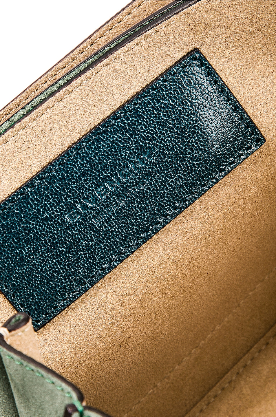 Image 7 of Givenchy Small Leather GV3 in Blue & Pistachio