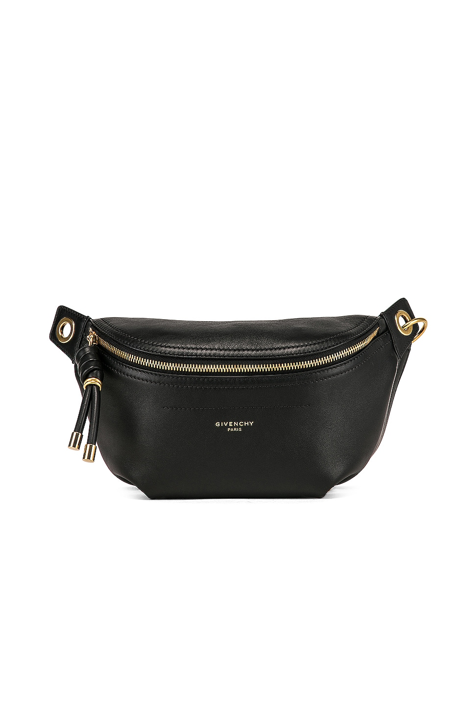 Image 1 of Givenchy Whip Chain Belt Bag in Black
