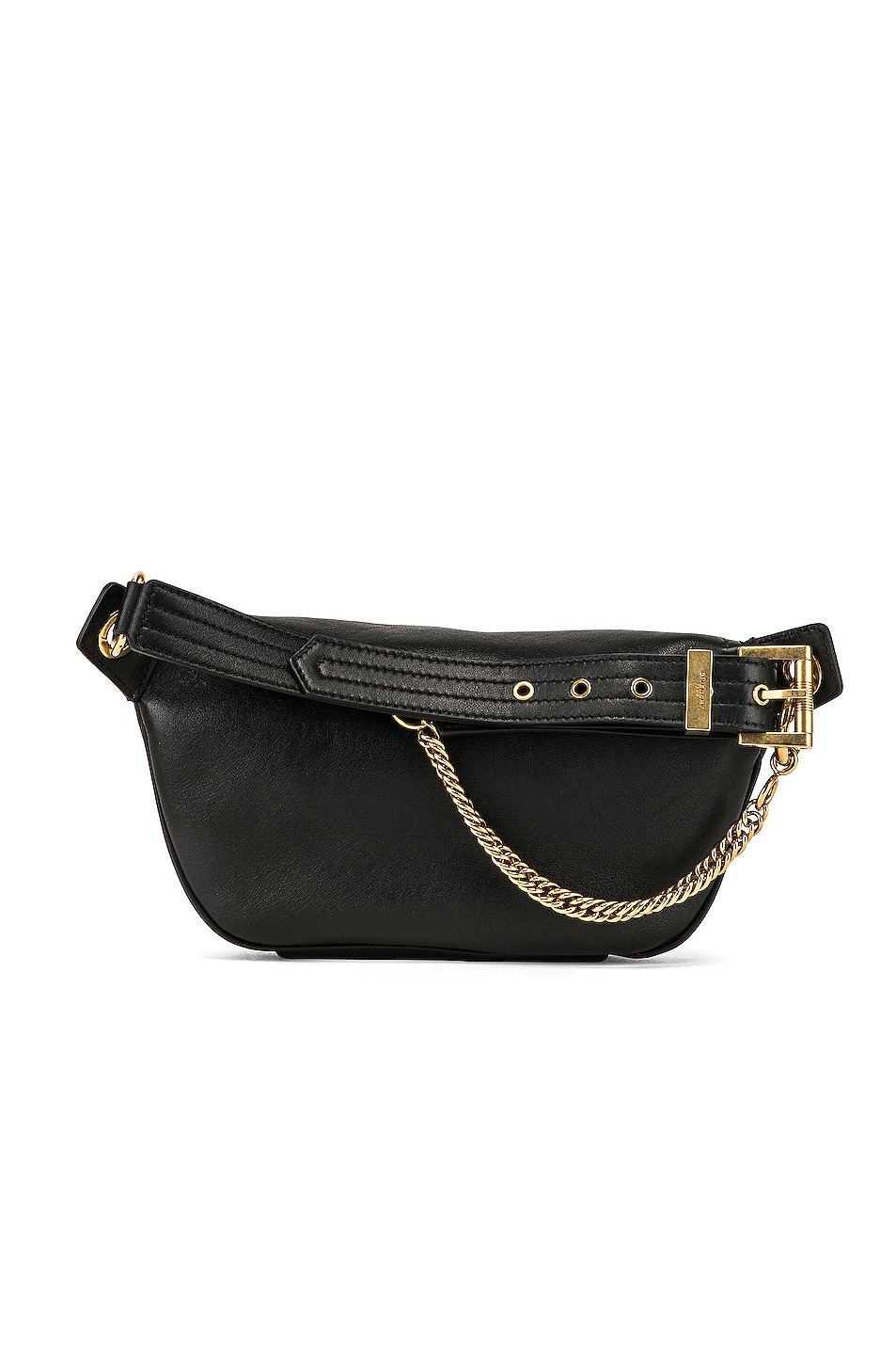 Image 3 of Givenchy Whip Chain Belt Bag in Black