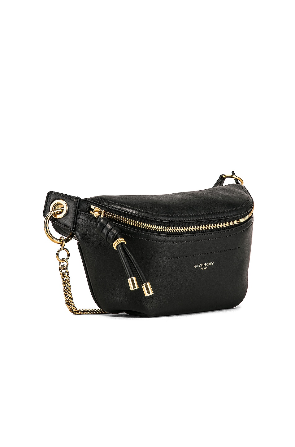 Image 4 of Givenchy Whip Chain Belt Bag in Black