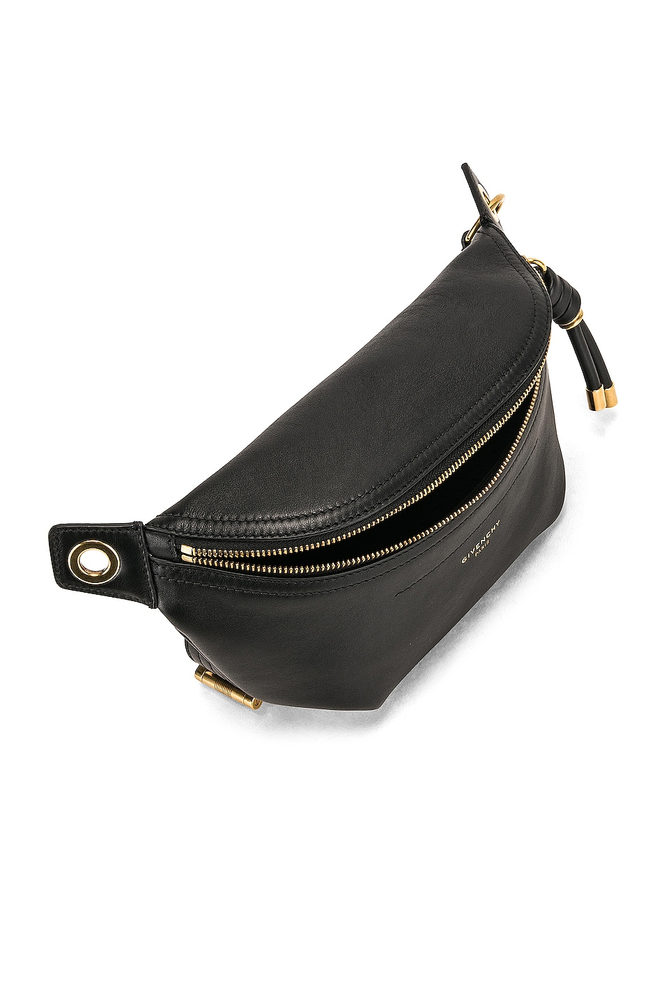 Image 5 of Givenchy Whip Chain Belt Bag in Black