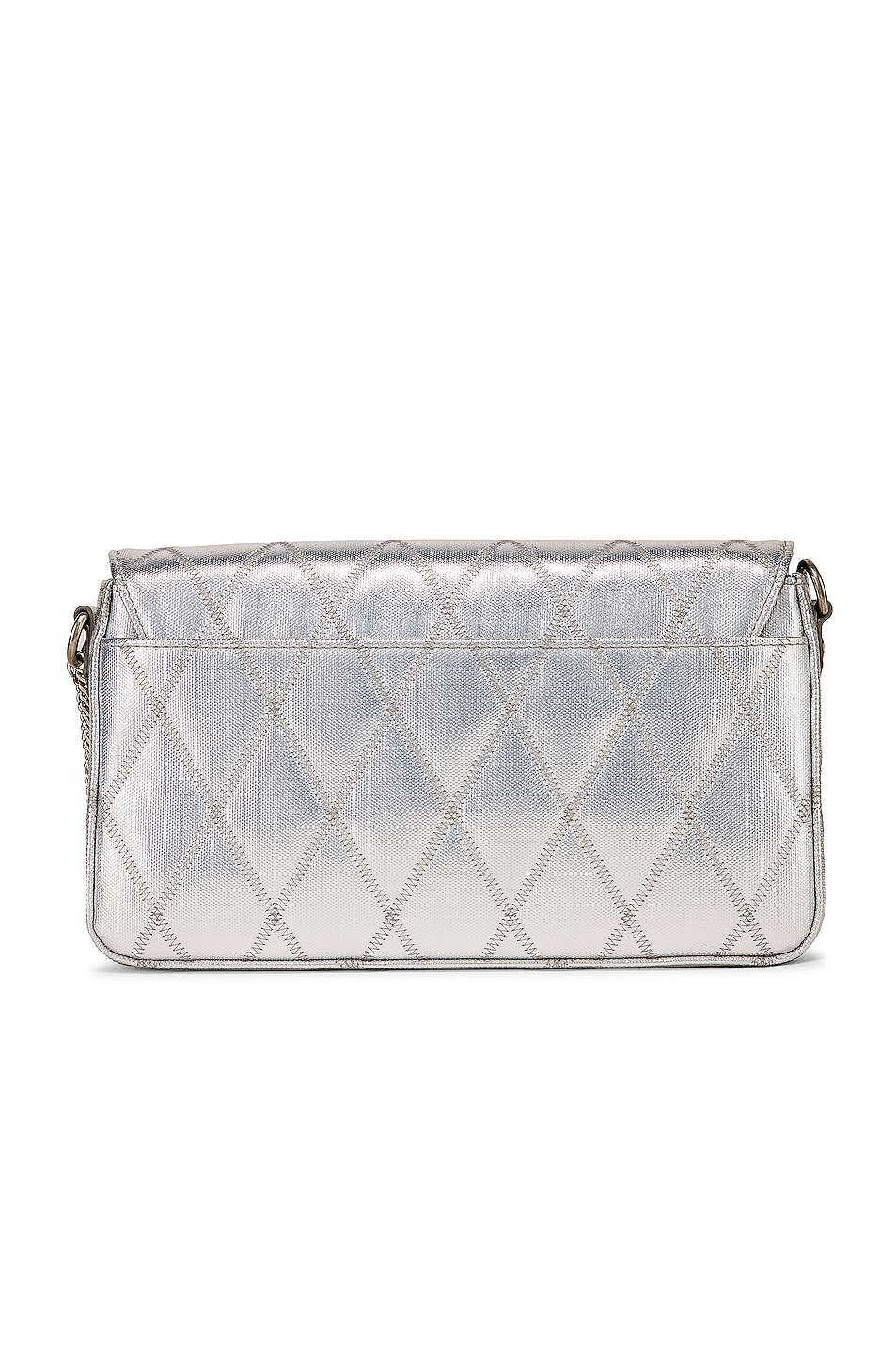 Image 3 of Givenchy Small Charm Shoulder Bag in Silver