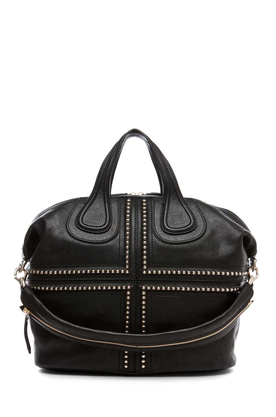 Image 1 of GIVENCHY Nightingale Medium Studded in Black