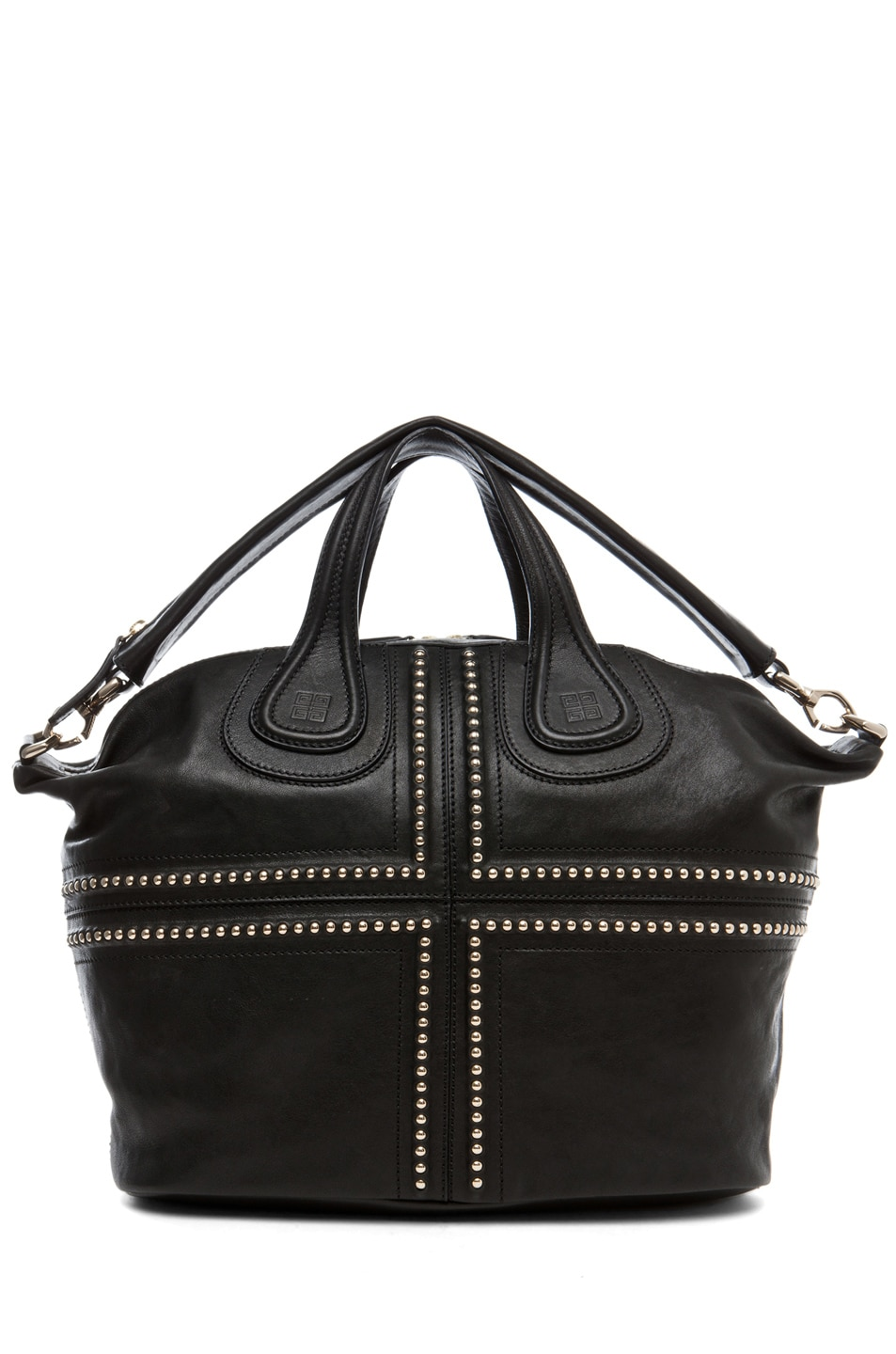 b94a82e0e5c8 Image 5 of Givenchy Nightingale Medium Studded in Black