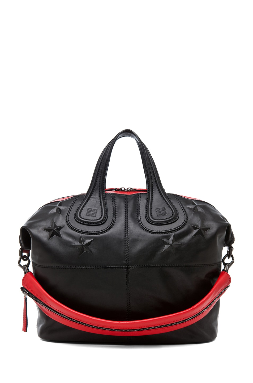 Image 1 of GIVENCHY Medium Nightingale Star Bag in Black
