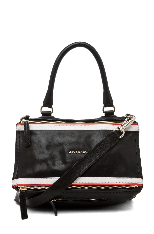 Image 1 of GIVENCHY Medium Pandora Striped Bag in Multi