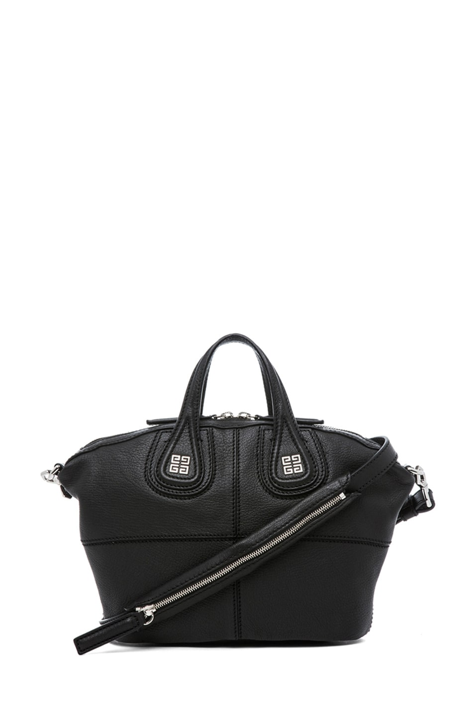 Image 1 of Givenchy Micro Nightingale in Black b314dcbe41e21