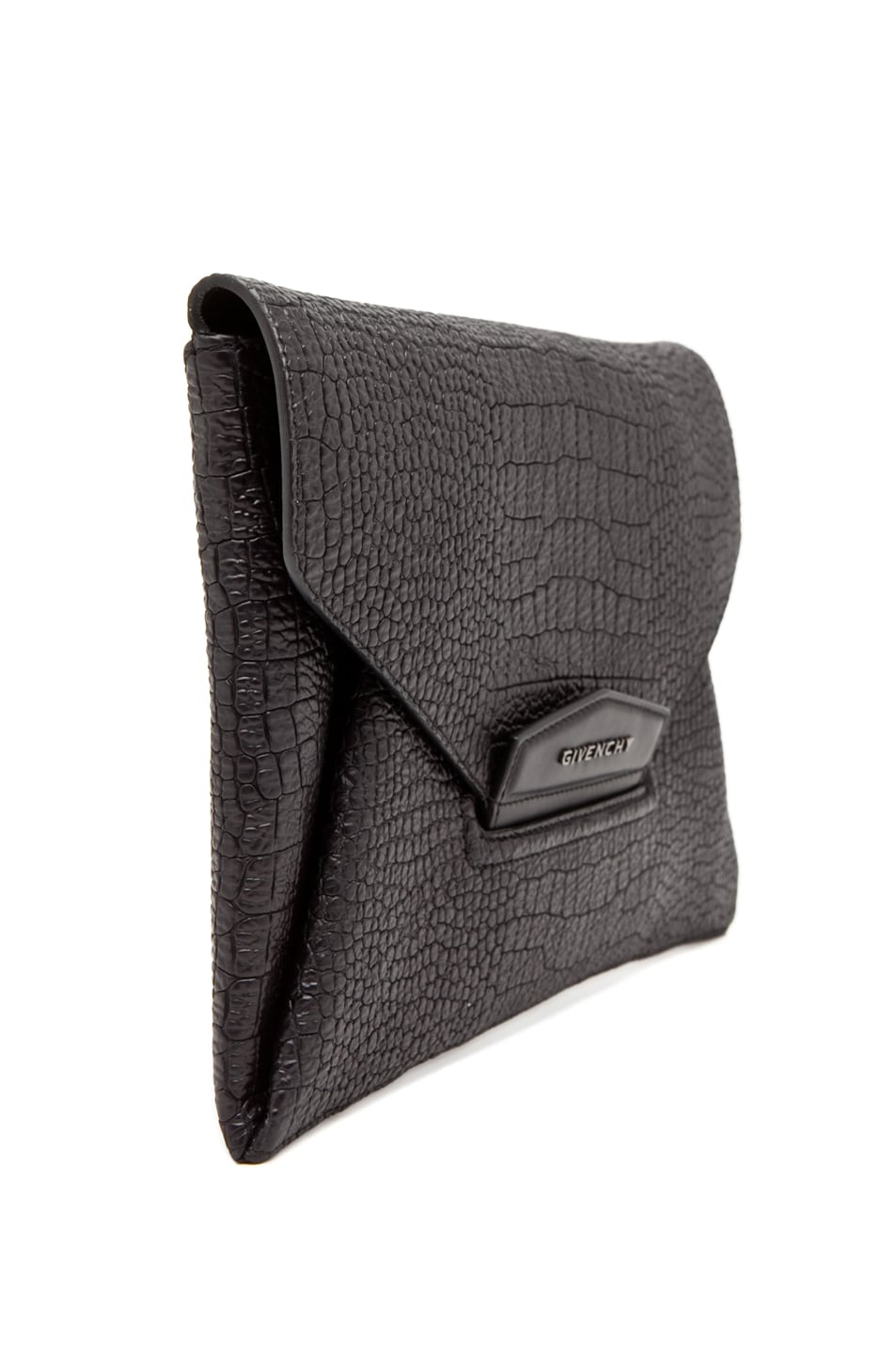 Image 3 of GIVENCHY Envelope Clutch in Black