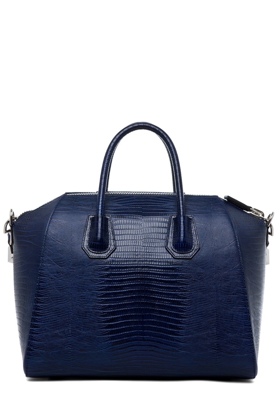 Image 2 of GIVENCHY Antigona Medium Stamped Tejus in Dark Blue