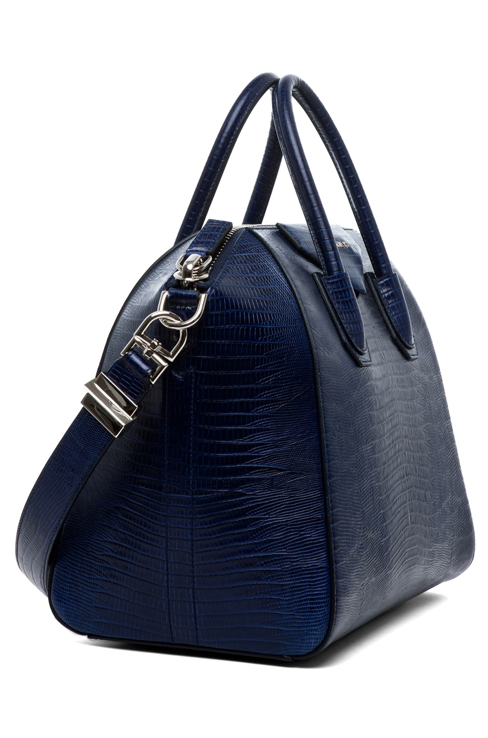 Image 3 of GIVENCHY Antigona Medium Stamped Tejus in Dark Blue