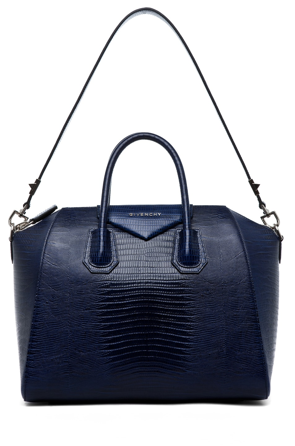 Image 5 of GIVENCHY Antigona Medium Stamped Tejus in Dark Blue