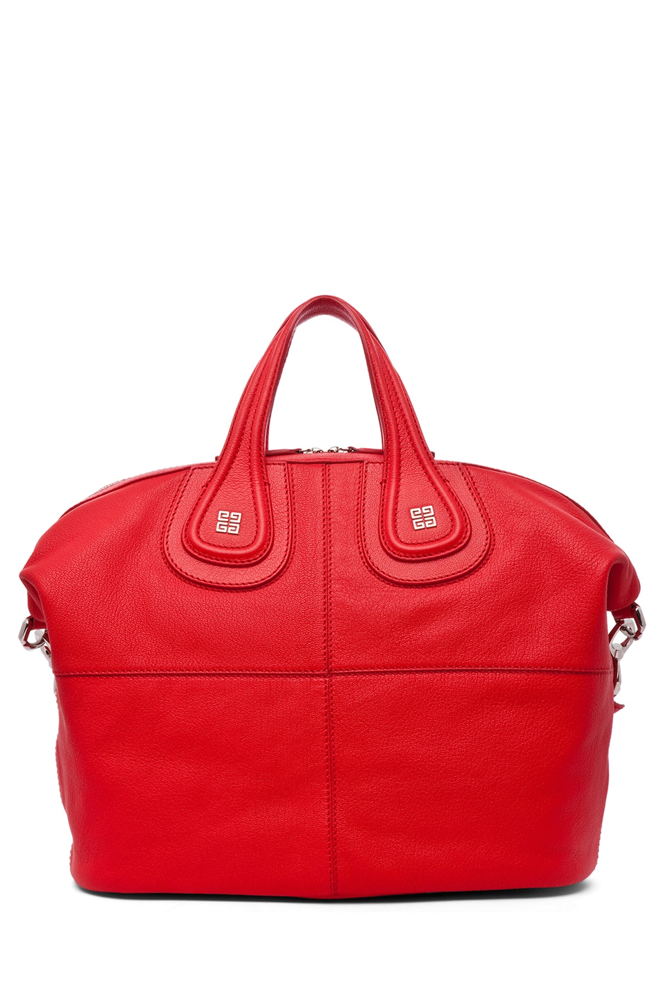 Image 2 of Givenchy Medium Nightingale in Red