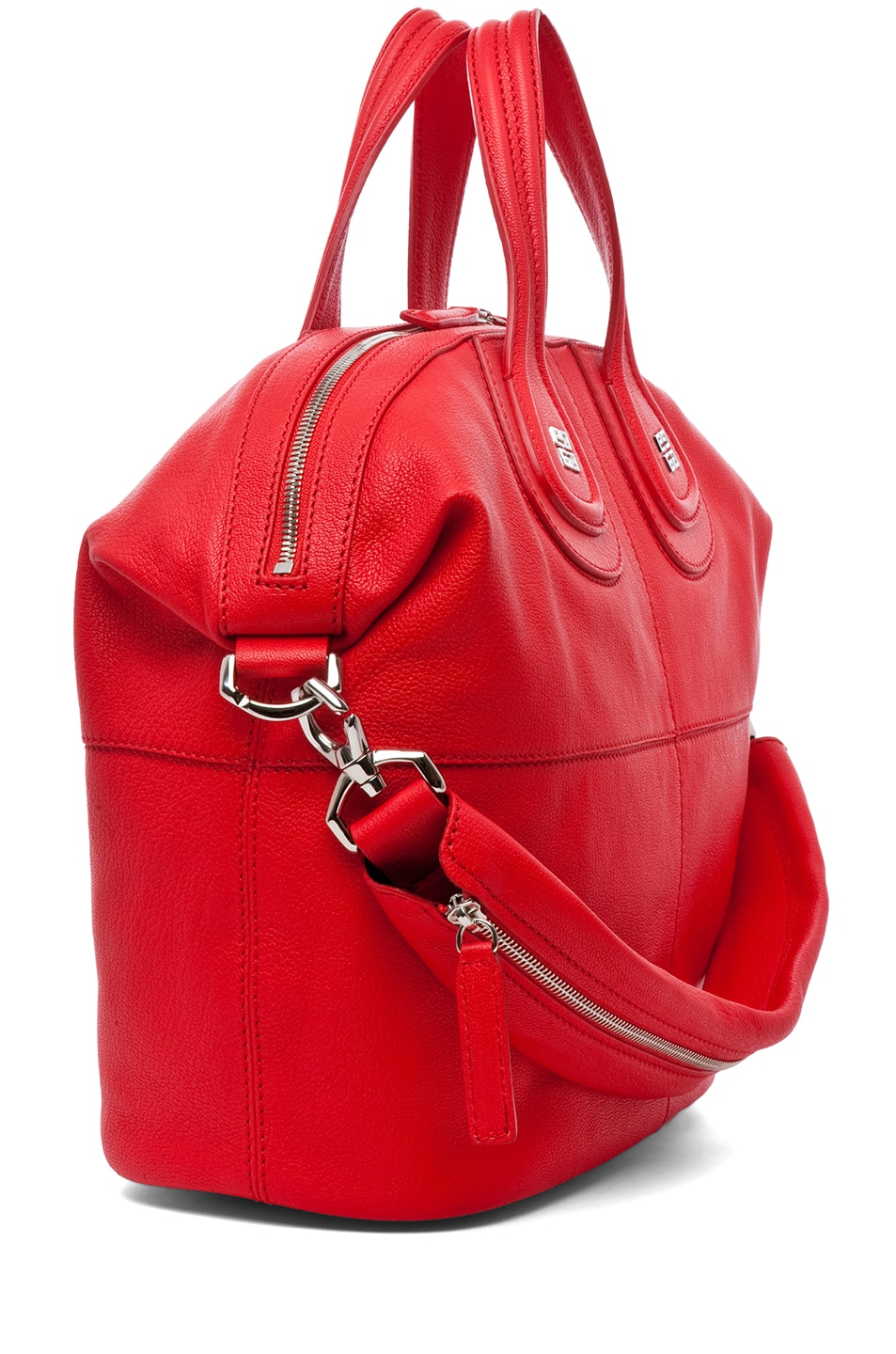 Image 3 of Givenchy Medium Nightingale in Red