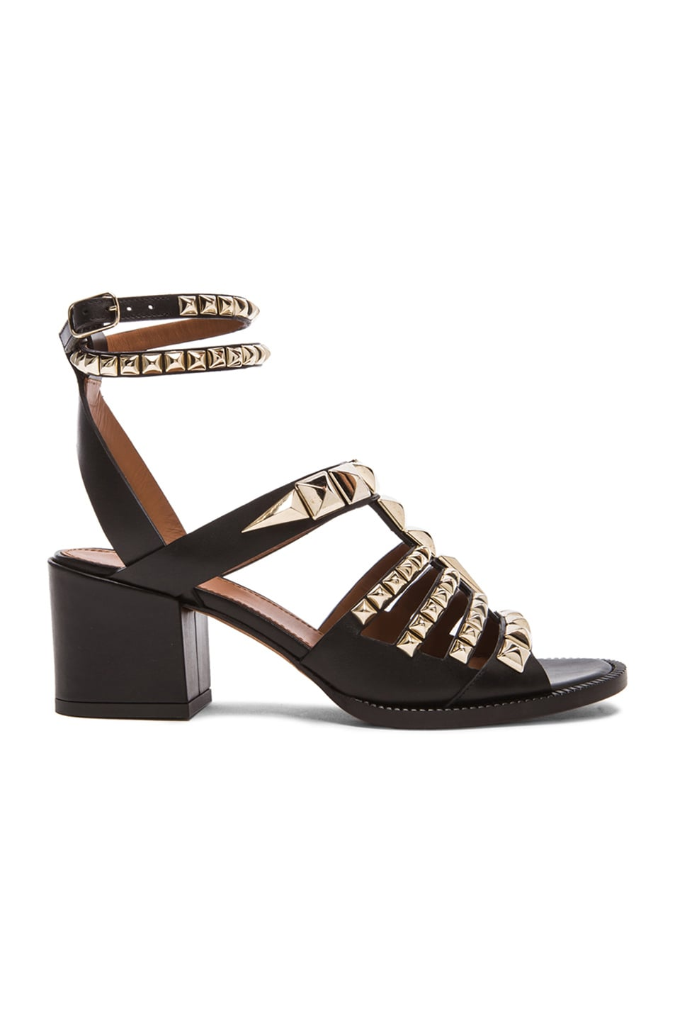 Givenchy Studded gladiator sandals P5MEfXj
