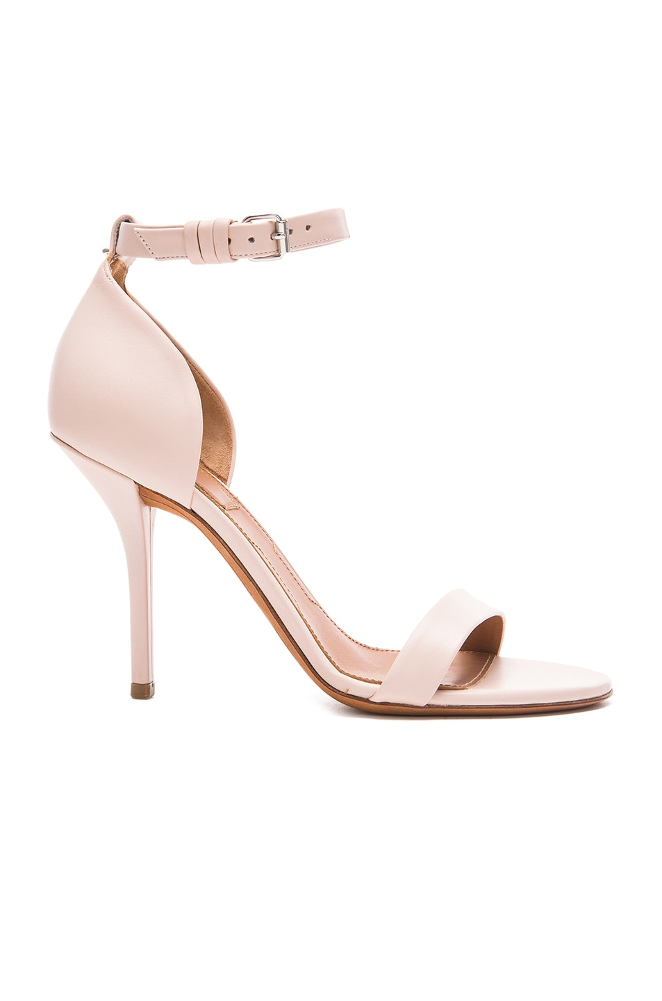 Image 1 of Givenchy Maremma Leather Heels in Nude