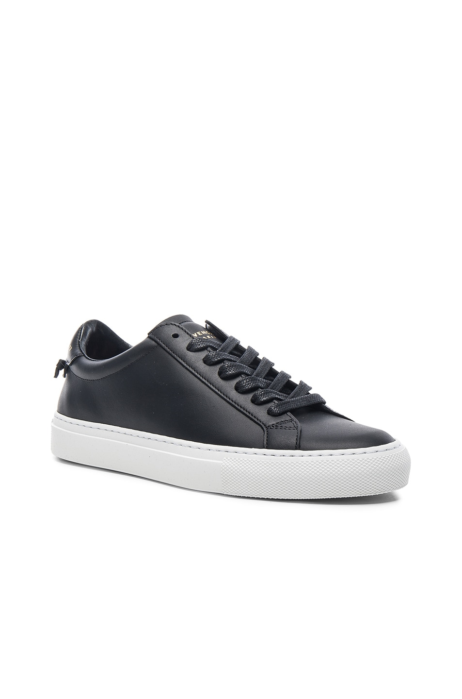 Image 2 of Givenchy Knots Leather Low Sneakers in Black