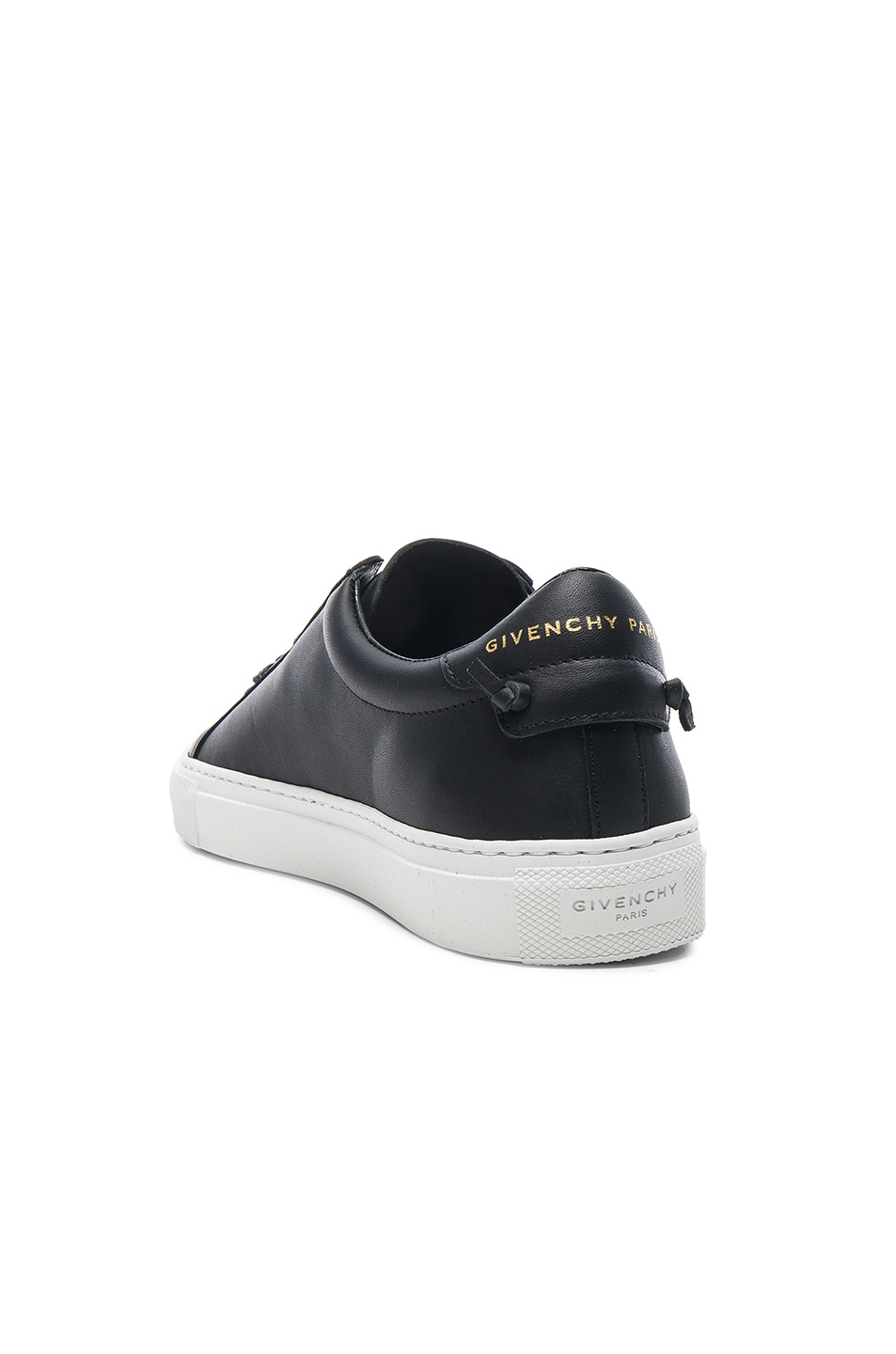 Image 3 of Givenchy Knots Leather Low Sneakers in Black