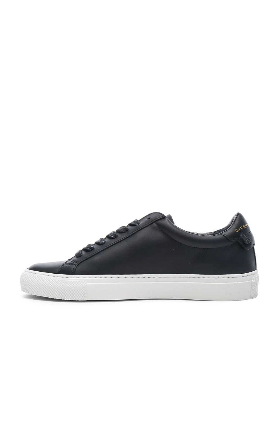 Image 5 of Givenchy Knots Leather Low Sneakers in Black