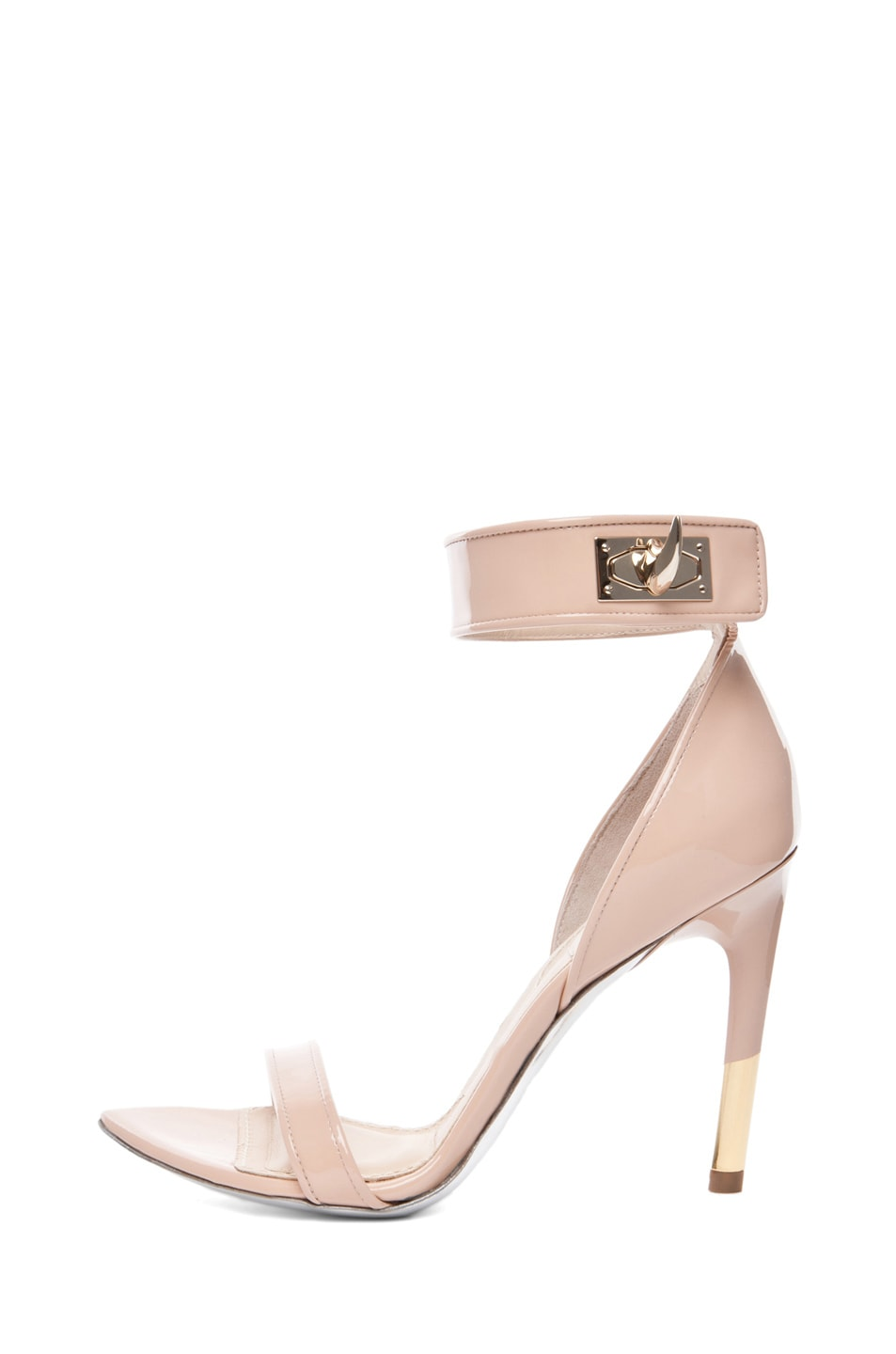 Image 1 of GIVENCHY Guerra Patent Leather Heel in Salmon