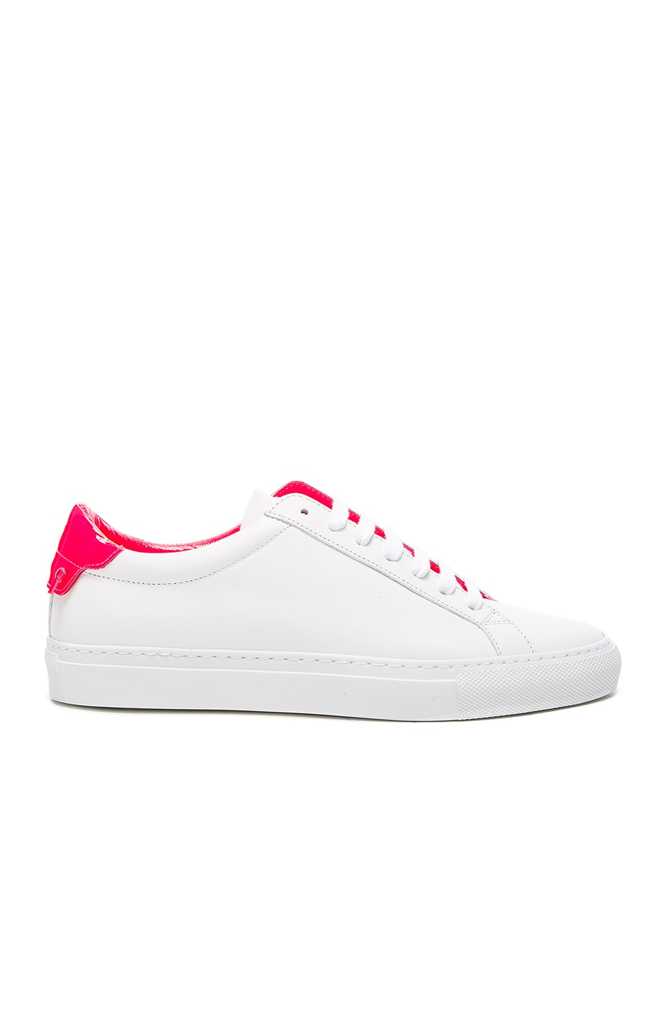 Image 1 of Givenchy Urban Street Low Sneaker in White & Pink