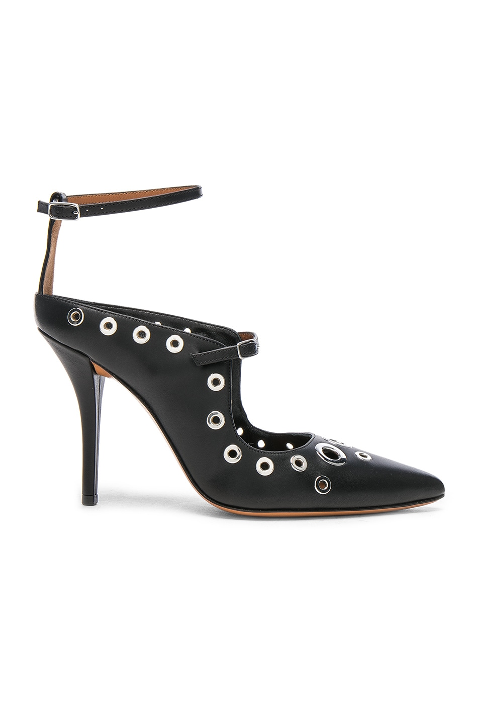 Image 1 of Givenchy Feminine Eyelet Pump in Black