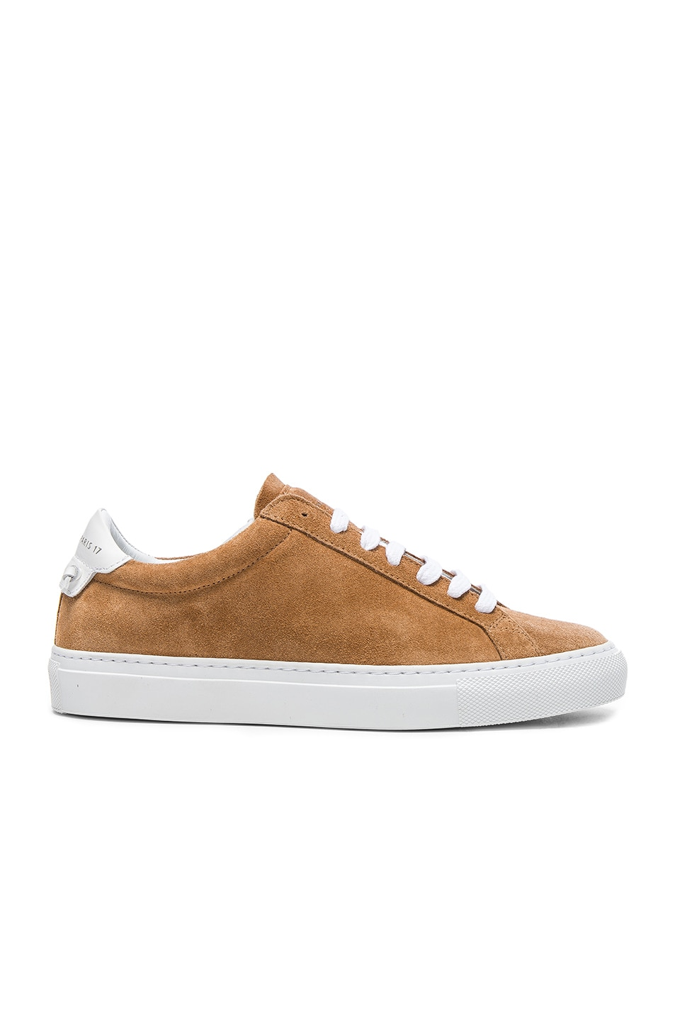 Image 1 of Givenchy Suede Knots Low Sneakers in Tan