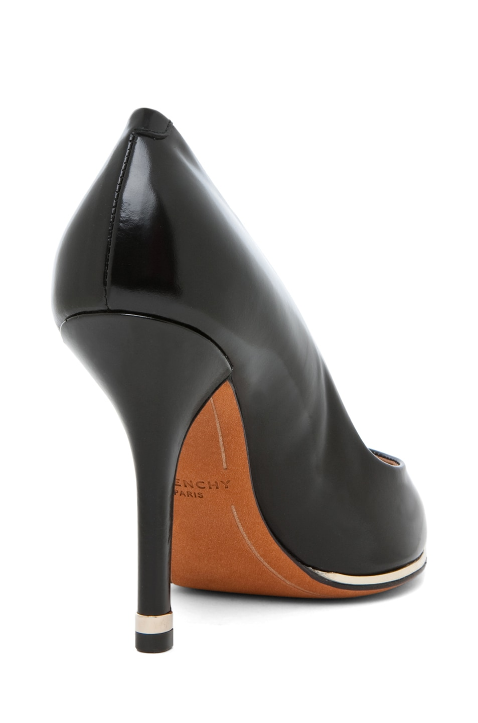 Image 3 of GIVENCHY Anuby Leather Classic Pumps in Black
