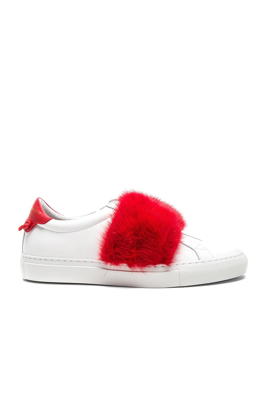 Urban street red mink sneaker Givenchy L46Uma