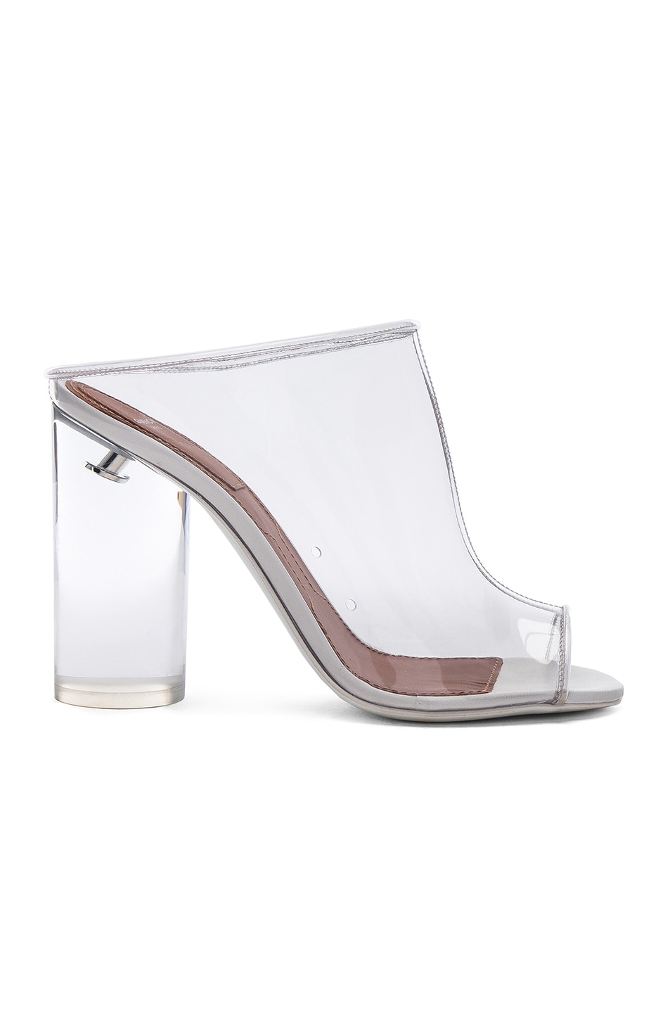 113e9a55dc4 Image 1 of Givenchy PVC Mules in Clear
