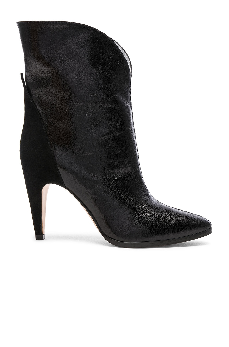 Givenchy Leather & Suede GV3 Mid Calf Boots in . gOfCk7
