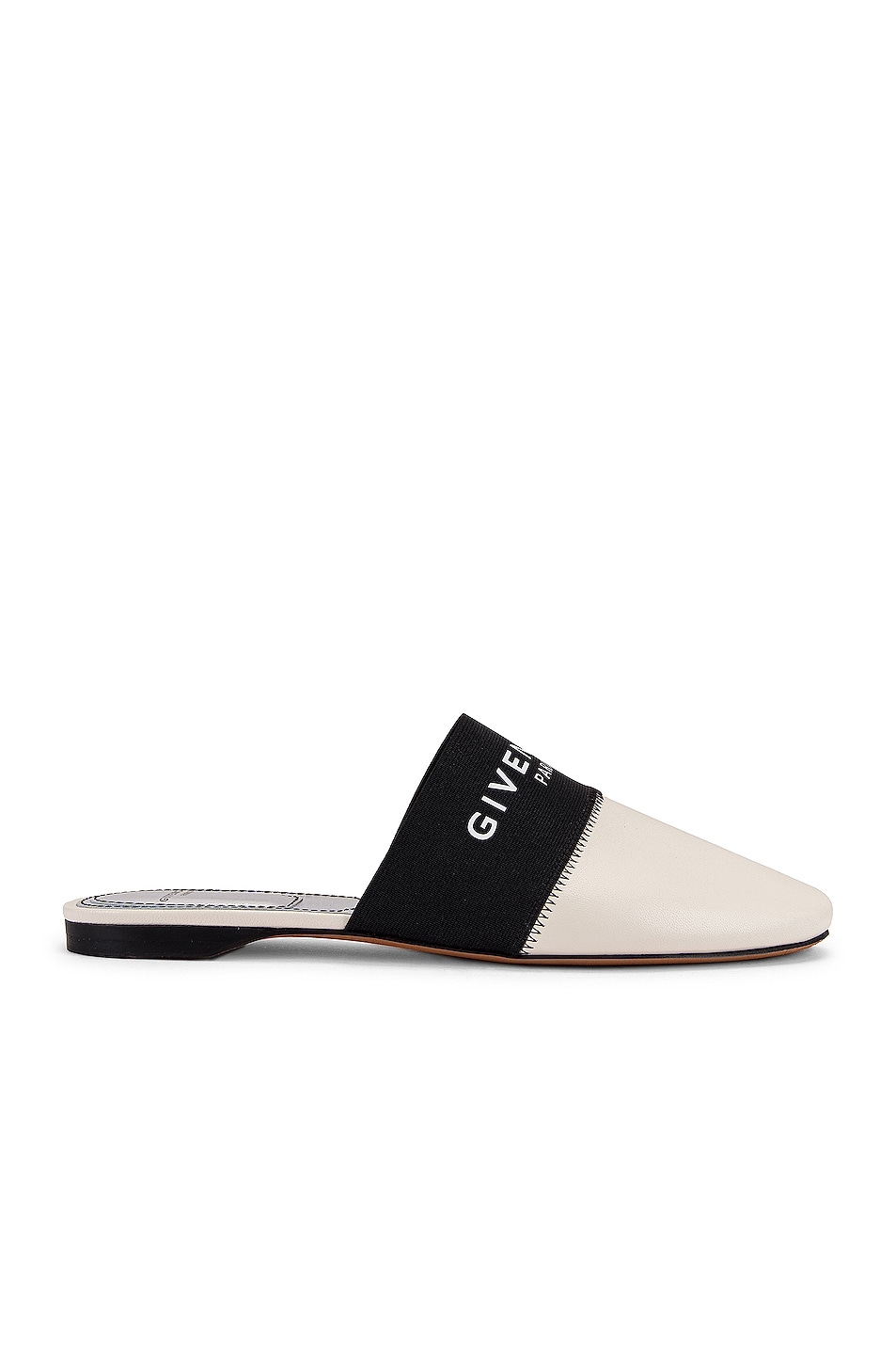 Image 2 of Givenchy Bedford Flat Mules in Skin