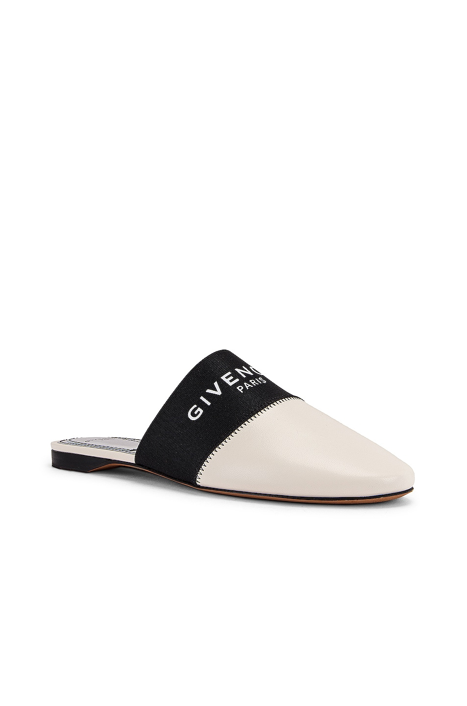 Image 3 of Givenchy Bedford Flat Mules in Skin