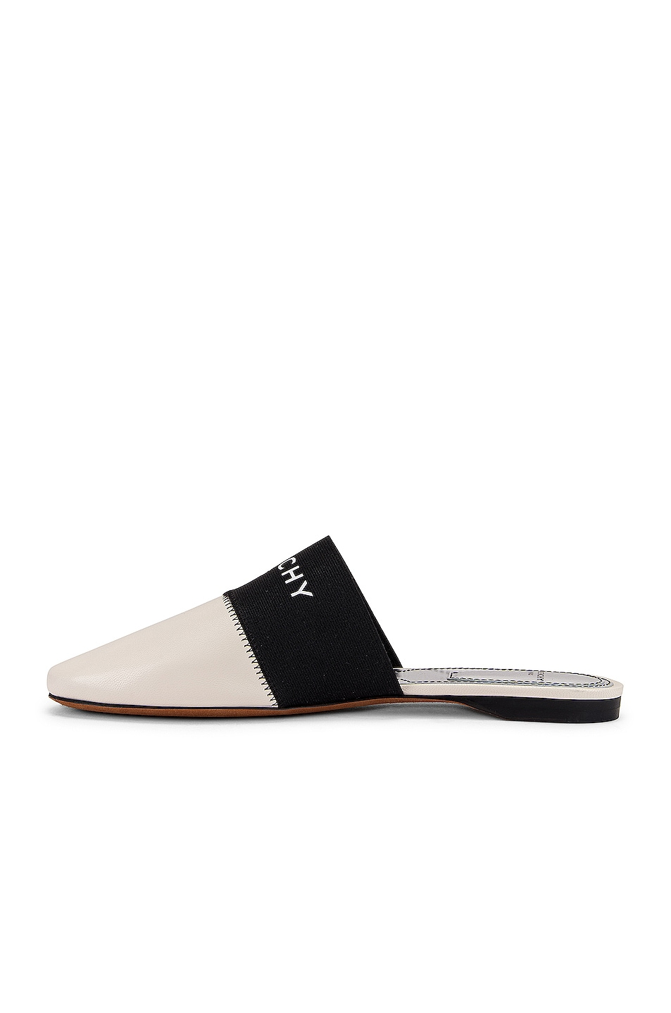 Image 5 of Givenchy Bedford Flat Mules in Skin