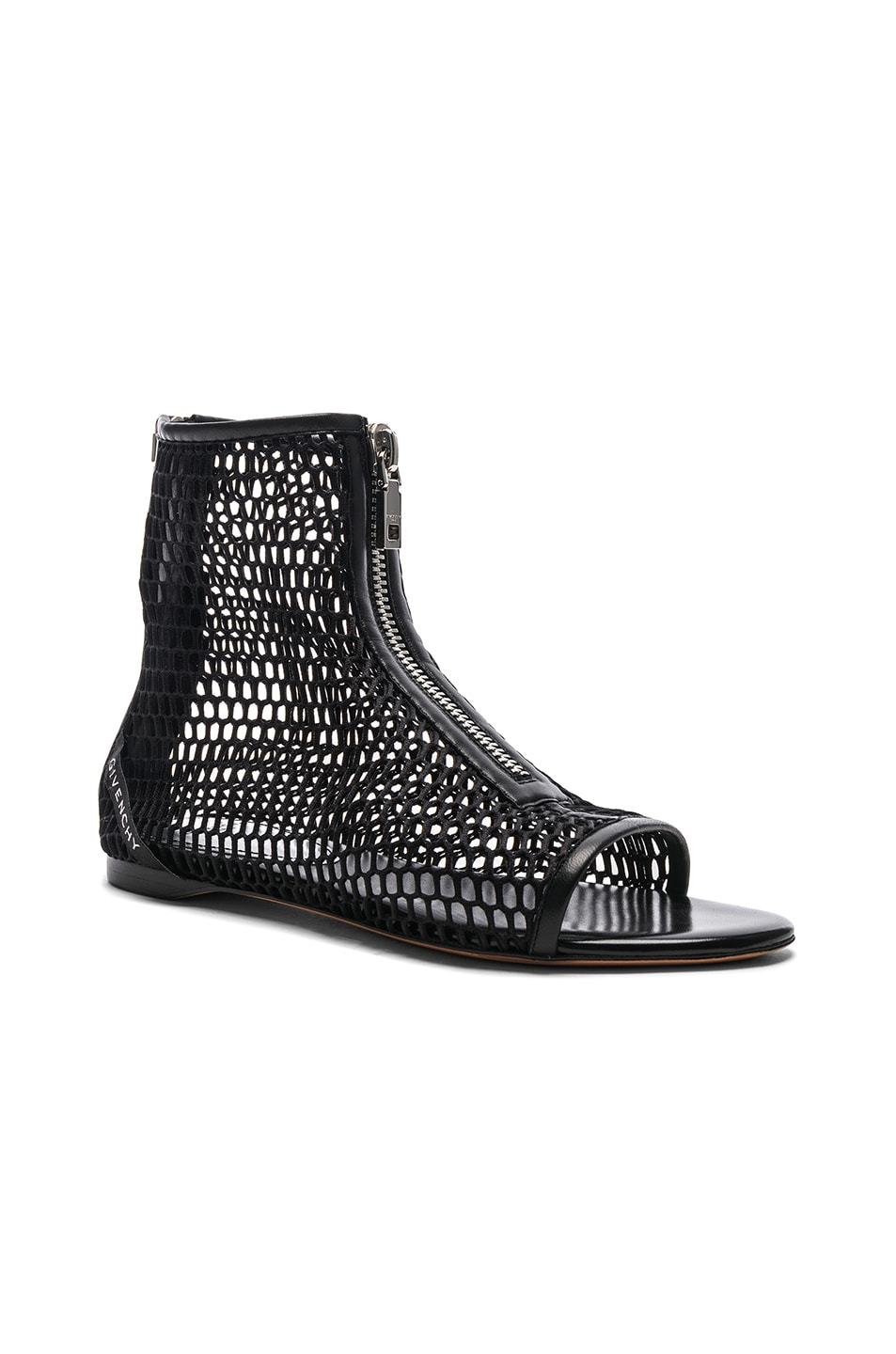 Image 2 of Givenchy Rivington Open Toe Sandals in Black