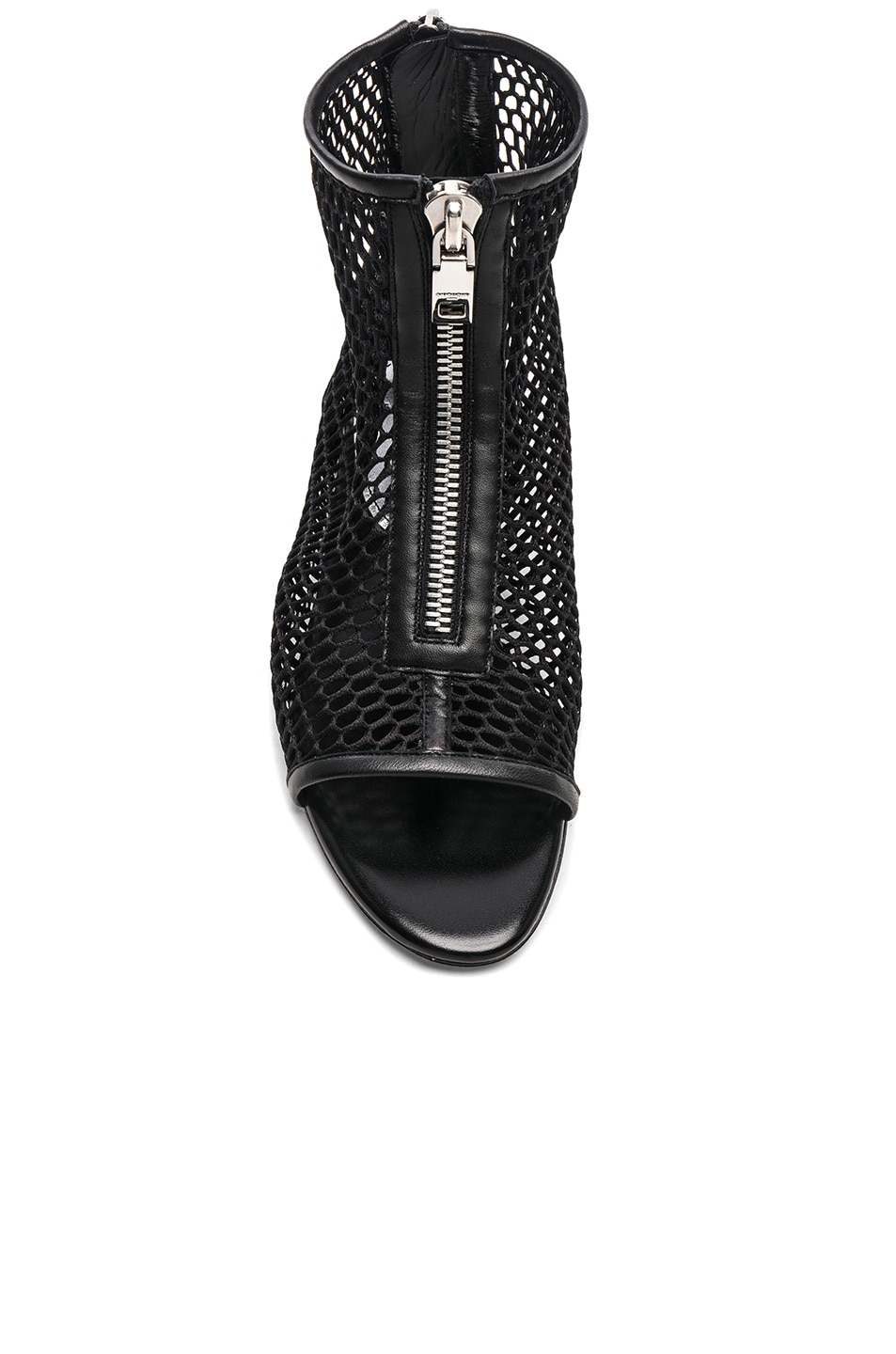 Image 4 of Givenchy Rivington Open Toe Sandals in Black