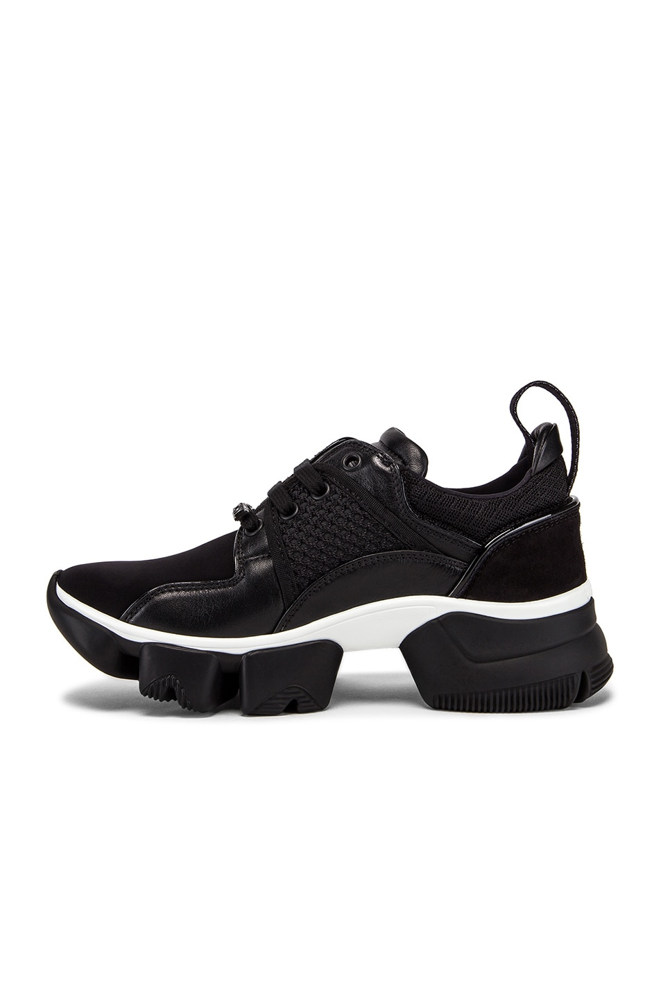 Image 5 of Givenchy Jaw Low Sneakers in Black & White
