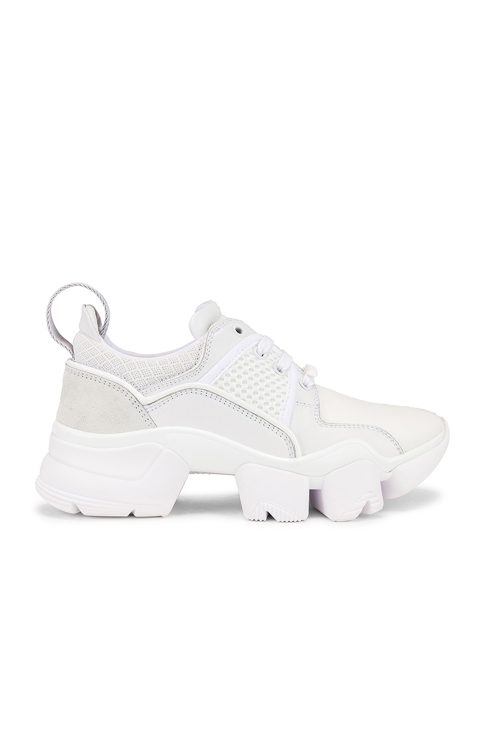 Image 1 of Givenchy Jaw Low Sneakers in White