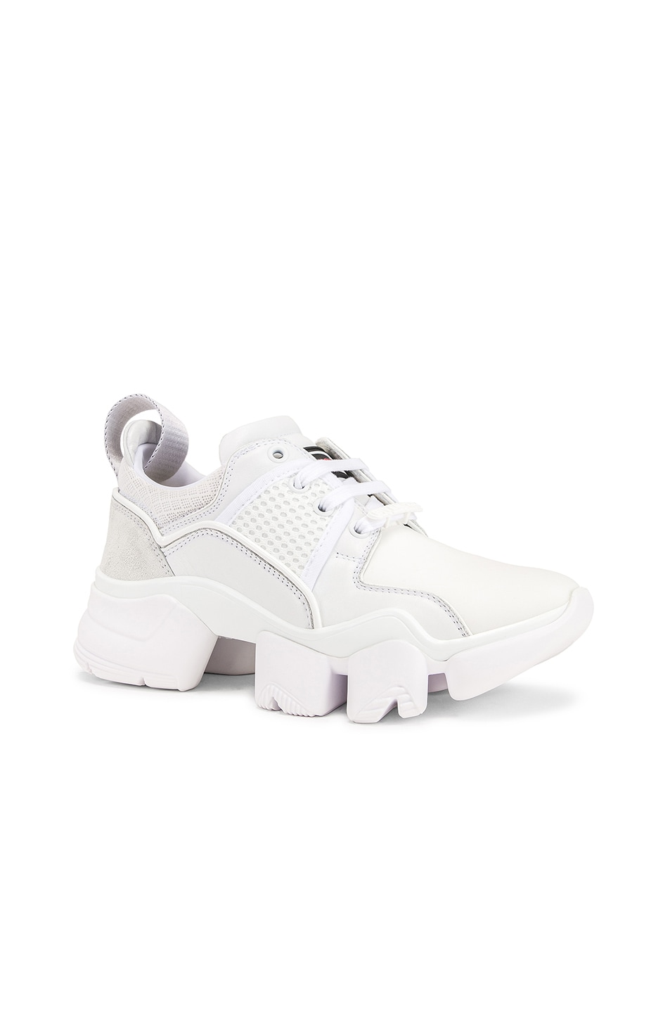 Image 2 of Givenchy Jaw Low Sneakers in White