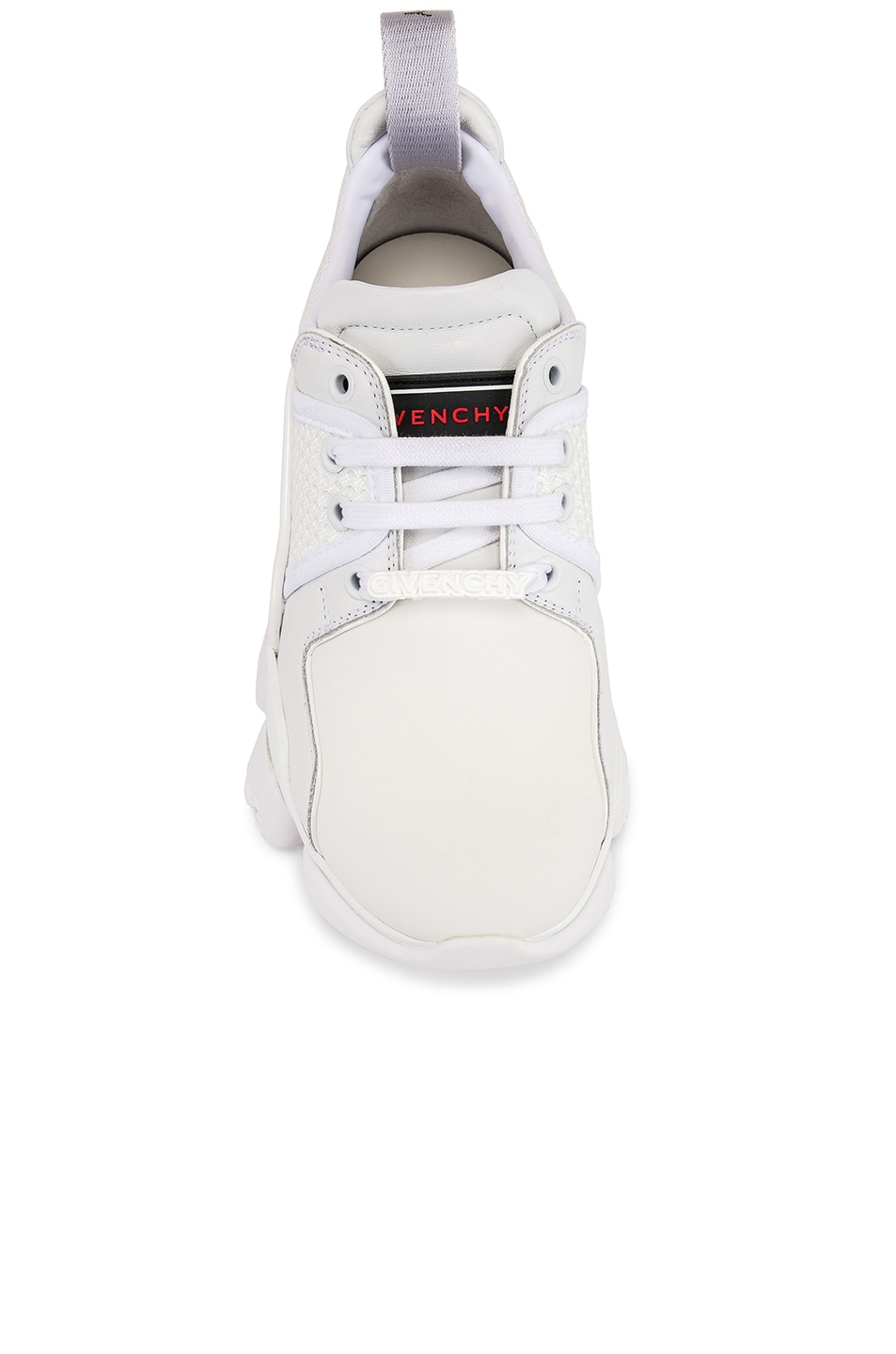 Image 4 of Givenchy Jaw Low Sneakers in White