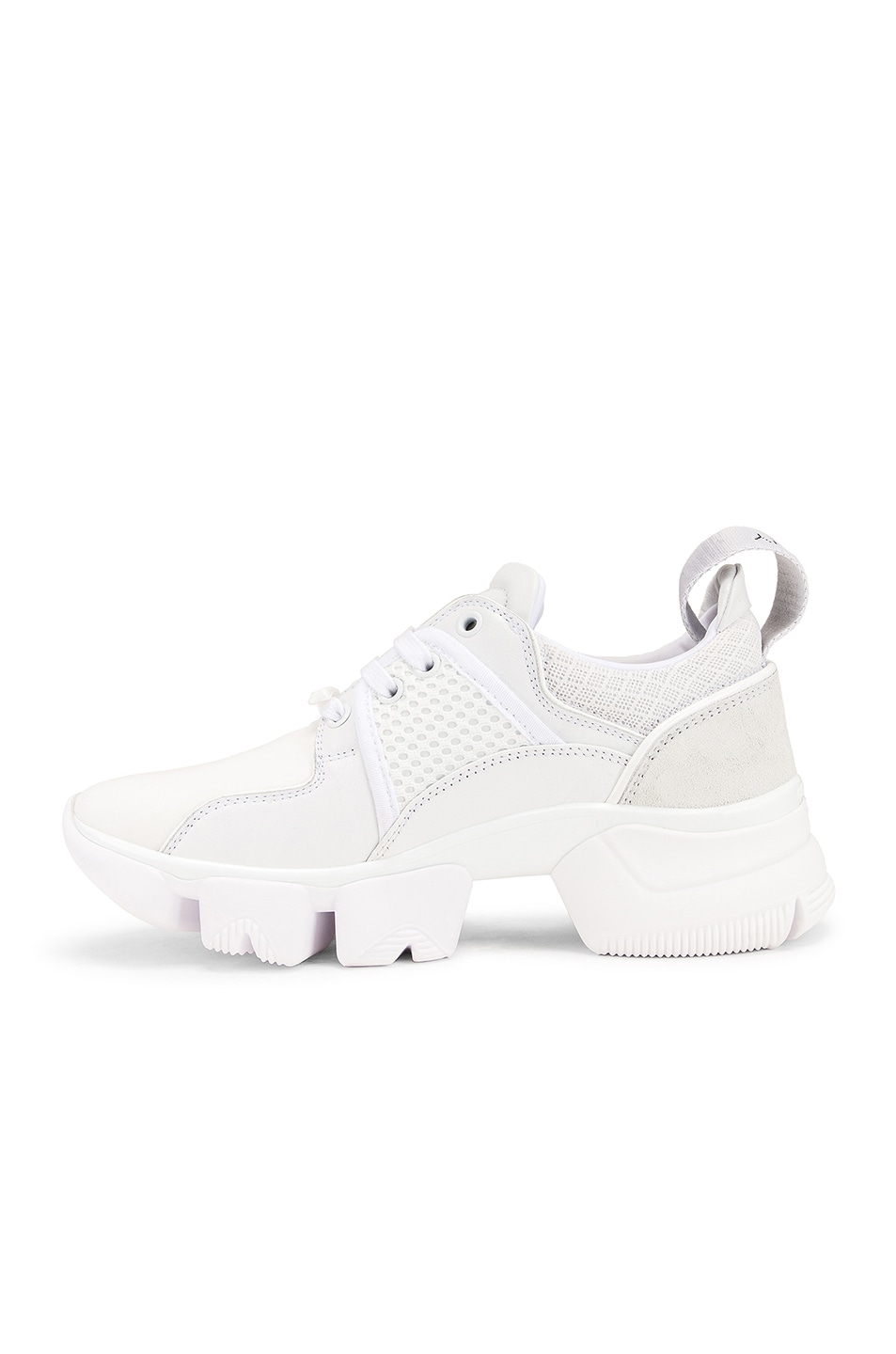 Image 5 of Givenchy Jaw Low Sneakers in White