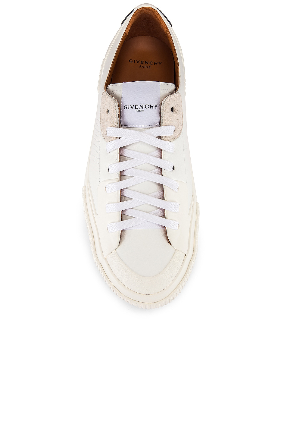 Image 4 of Givenchy Tennis Light Low Sneakers in White